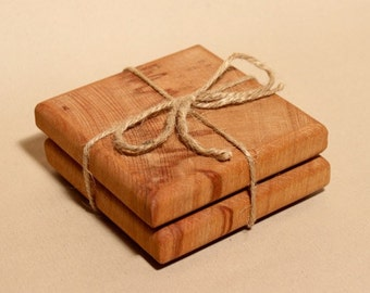 Spalted Beech Coasters