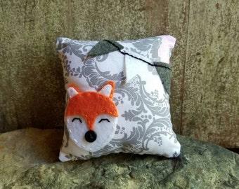Sale!!  Foxy Fox Pillow