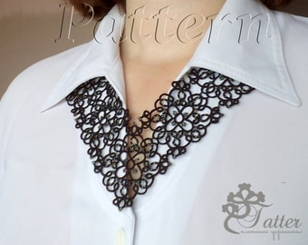 "Tatting Pattern PDF ""Shadow"""