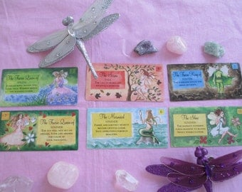 Fairy Tarot Card Reading, Intuitive Tarot Card Reading With The Fairies, Tarot Card Deck Gillian Dempsey
