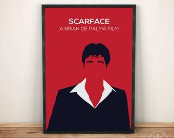 Scarface decor etsy for Scarface decor