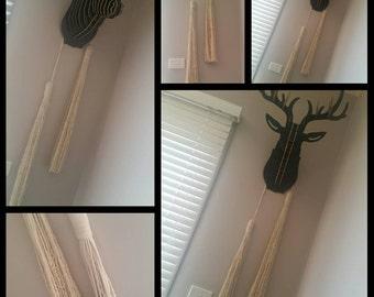 Large Wall Tassell - decorative hanging
