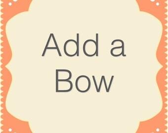 Add a Bow