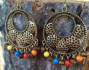 Gypsy's Daughter Bohemian Hoop Earrings