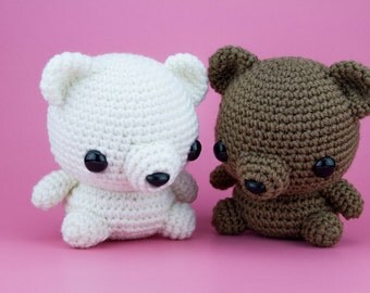Custom Teddy Bear Amigurumi