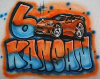 Race Car T Shirt Etsy