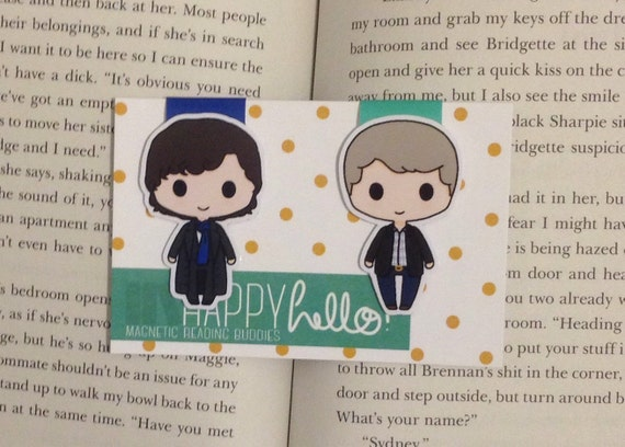 Magnetic Bookmarks • Detective Duo
