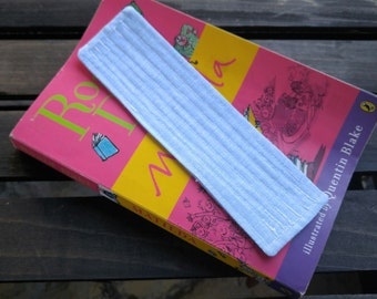 Blue Quilted Bookmark