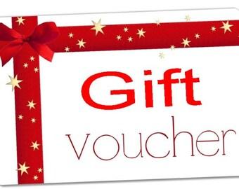 Gift Voucher 10.00 GBP