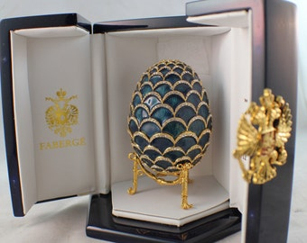 Faberge Imperial Pine Coe Egg