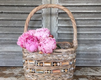 FLASH SALE- Vintage Wicker Basket