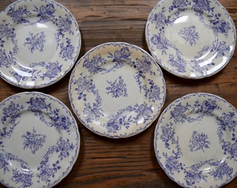 Vintage French Decorative Plates