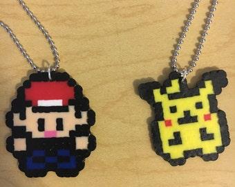 Pokemon best friend necklaces