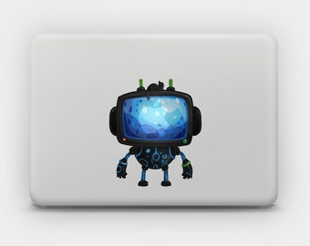 Transparent Sticker Decal for MacBook or Laptop - Robo