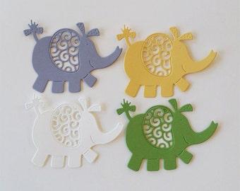 Elephant Die Cuts