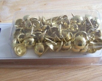 Upholstery pins gold upholstery tacks for furniture covering interior design NEW