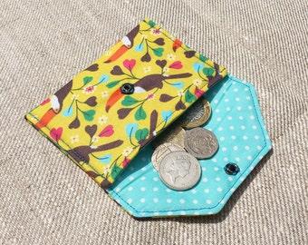 Handmade Toucan Coin Purse - Small