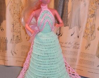 Crochet Fashion Doll Barbie Pattern- #116 CLASSIC #1