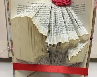 PATTERN #21 blowing kisses book folding pattern. 262 folds