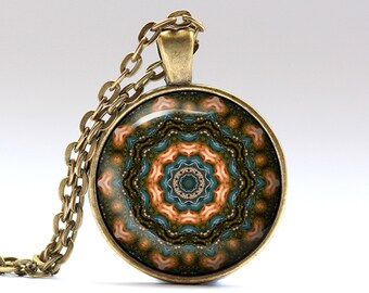 Estorecil pendant Hippie necklace Boho jewelry OWA626