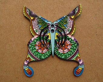 BASSNECTAR Bass Butterfly v5.0 HAT PIN