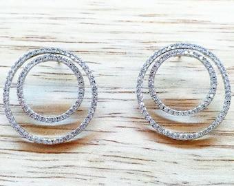 2 Carat Diamond Earrings