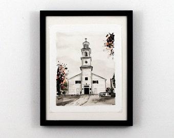 Richmond Va Art - St. John's Episcopal Church