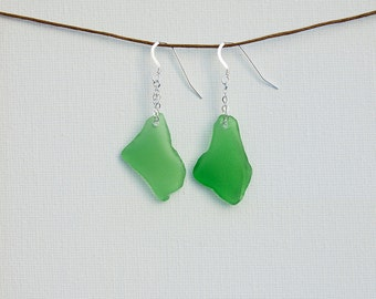 Palm Green Dangle Earrings