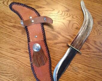 Rocky Mountain Antler Lawnmower Knife