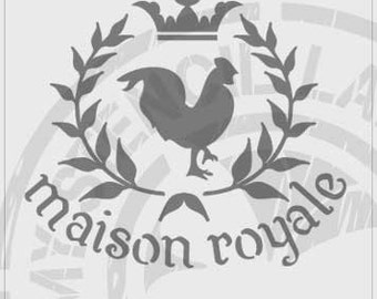 Maison Royale French Stencil #159