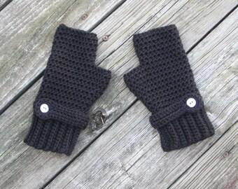 Crochet Fingerless gloves Fingerless mittens for women