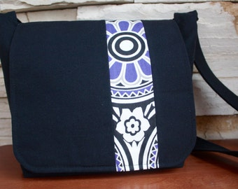 Canvas Messenger Bag:Medium