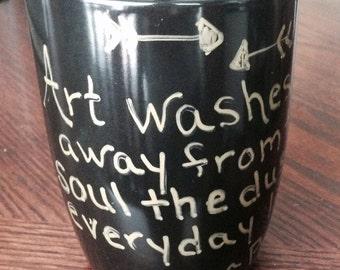 Picasso Quote Mug