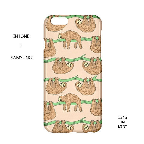 sloth iphone case sloth iphone caseslothcutekawaiiiphone caseslothsiphone 12989