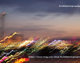 Las Vegas ~ Stratosphere ~ Abstract ~ Motion ~ Photographic Art ~ Night Photography