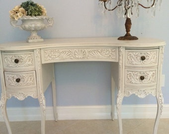 Antique French Vanity Desk
