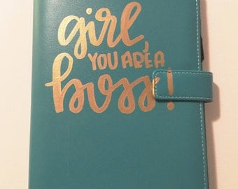 GIRL you are a BOSS! // 16-17 planner organizer