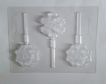 Snowflake Lollipop Candy Mold