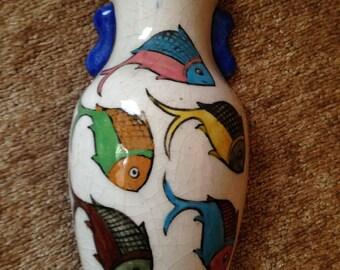 Ceramic Wall Pocket/Vase