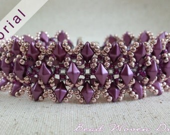 Ruffled Regalia Bracelet Tutorial