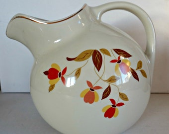 Beautiful Hall Vintage Water Pitcher