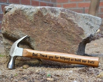 Father's day. Custom Hammers for any Occasion. gift