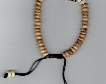 Yak Bone Streachable Bracelet, Nepal
