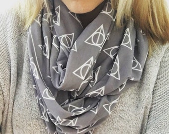 Harry Potter Deathly Hallows Infinity Scarf - Free Shipping