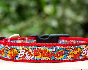 Pop Culture Dog Collar / Made in Australia