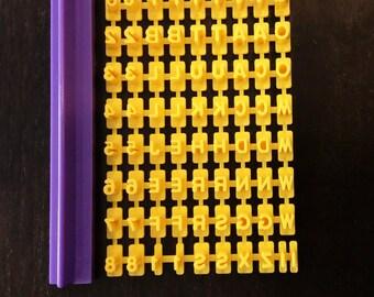 Alphabet & Numbers Embosser