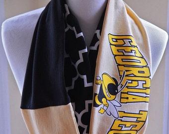 Georgia Tech Yellow Jackets Infinity Scarf