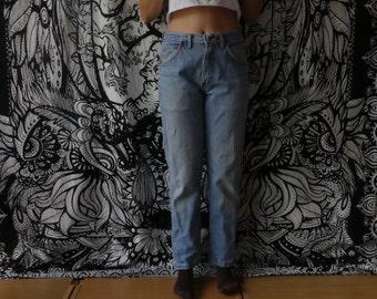 75% OFF EVERYTHING  Vintage 90s Retro Light Denim Jeans