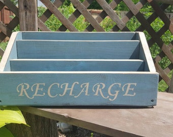Rustic Family Size Docking/Charging Station