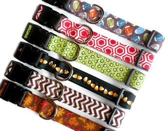 Sale - Clearance - Large Boy Dog Collars - Male Dogs - Masculine Collars
